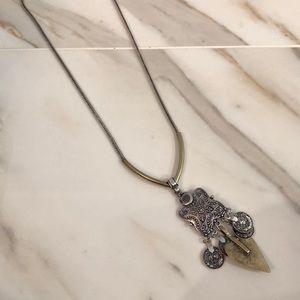 Topshop Coin Necklace
